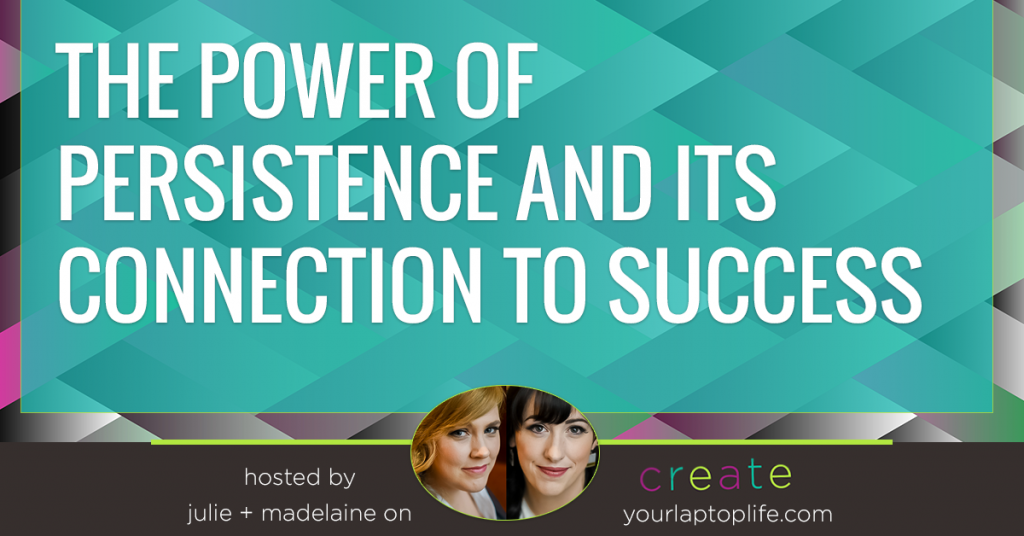 The Power of Persistence and Its Connection to Success